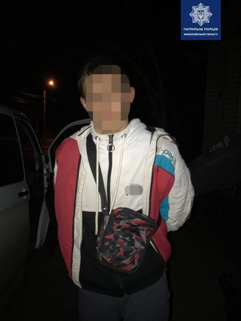 За сутки в Николаеве патрульные выявили и задержали двух человек, находившихся в розыске (ФОТО) 1