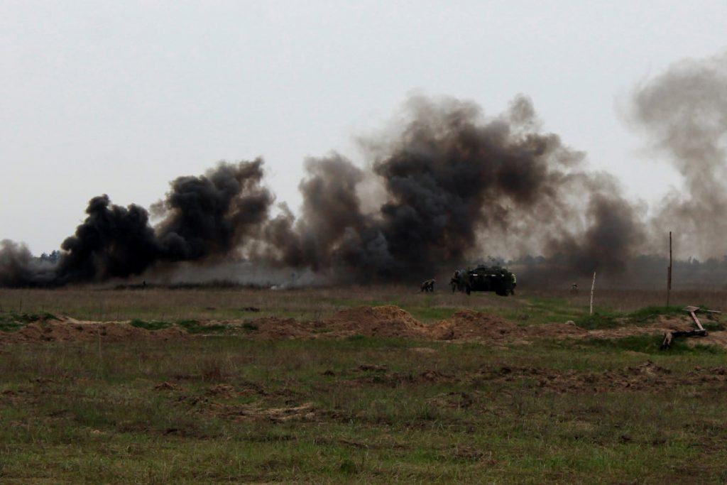 Николаевские десантники отработали действия во время боя (ФОТО) 19