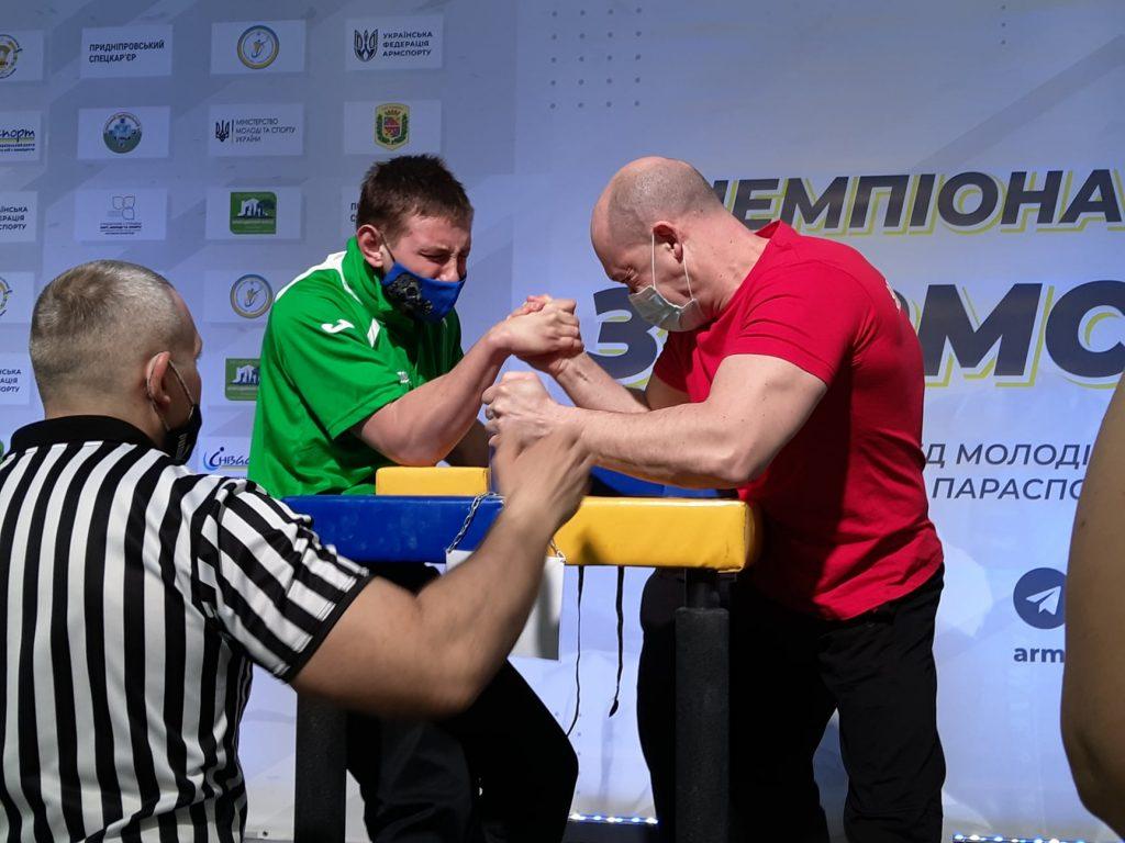 Николаевцы завоевали 12 наград чемпионата Украины по армспорту среди спортсменов с поражением опорно-двигательного аппарата и нарушениями зрения (ФОТО) 21