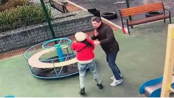 Чиновника Офиса Президента обвинили в нападении  на 12-летнюю девочку. Он говорит, что защищал своего сына (ВИДЕО)
