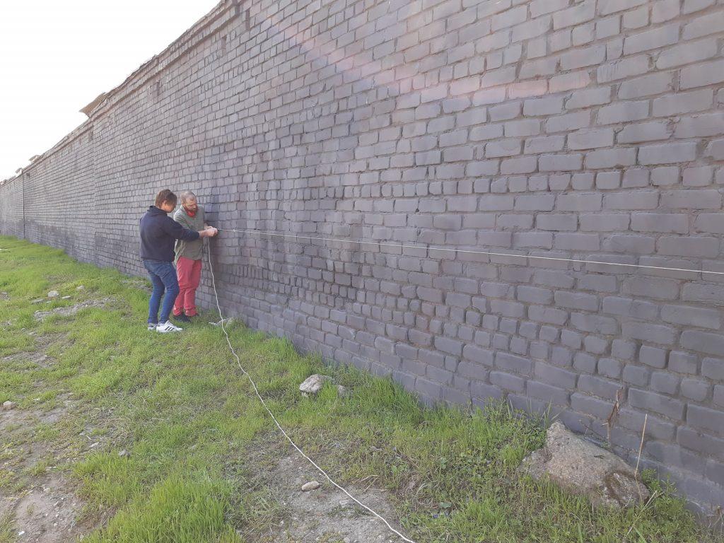 В Николаеве приступили к созданию масштабного мурала, обещают урбан-парк (ФОТО) 5