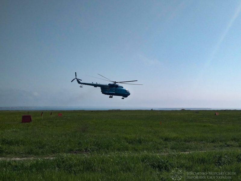 Морские авиаторы из Николаева отработали поражение водных целей авиационными бомбами (ФОТО)