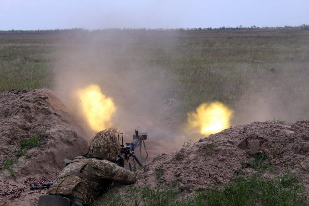 Николаевские десантники отработали действия во время боя (ФОТО) 3