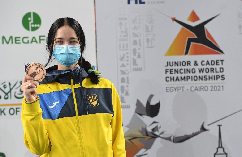 Из-за травмы фехтовала практически на одной ноге: Валерия Проченко из Николаева добыла «бронзу» юниорского чемпионата мира (ФОТО) 5