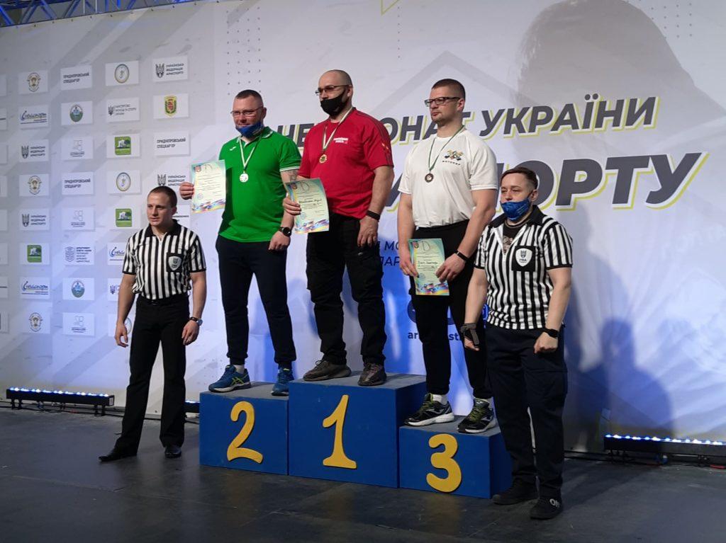 Николаевцы завоевали 12 наград чемпионата Украины по армспорту среди спортсменов с поражением опорно-двигательного аппарата и нарушениями зрения (ФОТО) 3