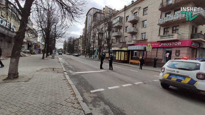 Внимание, в центре Николаева перекрыт перекресток — следственный эксперимент! (ДОБАВЛЕНО ФОТО)
