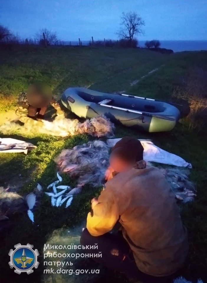 Николаевский рыбоохранный патруль задержал браконьера с 70 кг рыбы (ФОТО) 3