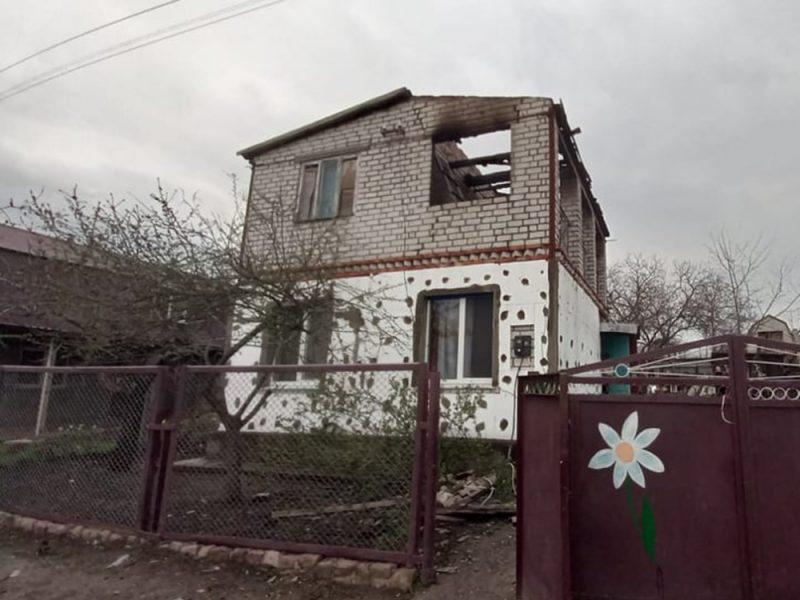 В дачном кооперативе под Николаевом горел двухэтажный жилой дом (ФОТО)