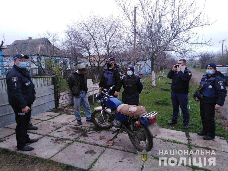 На Николаевщине мужчина угрожал взорвать гранату в жилом доме. Его задержали (ФОТО)