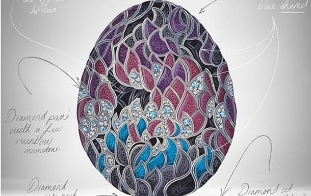 К юбилею Игры Престолов Fabergе представил бриллиантовое яйцо за $2,2 млн. (ФОТО, ВИДЕО)
