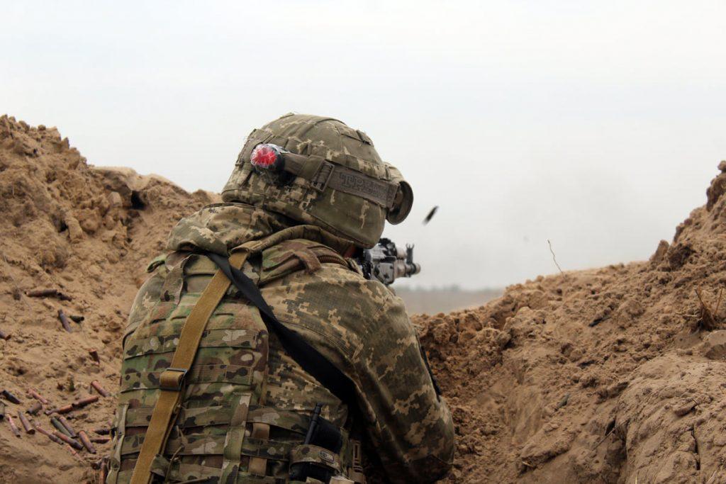 Николаевские десантники отработали действия во время боя (ФОТО) 5