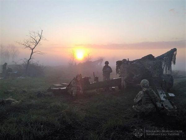 В Николаевской и Одесской областях артиллеристы ВМС учились прикрывать побережье (ФОТО)