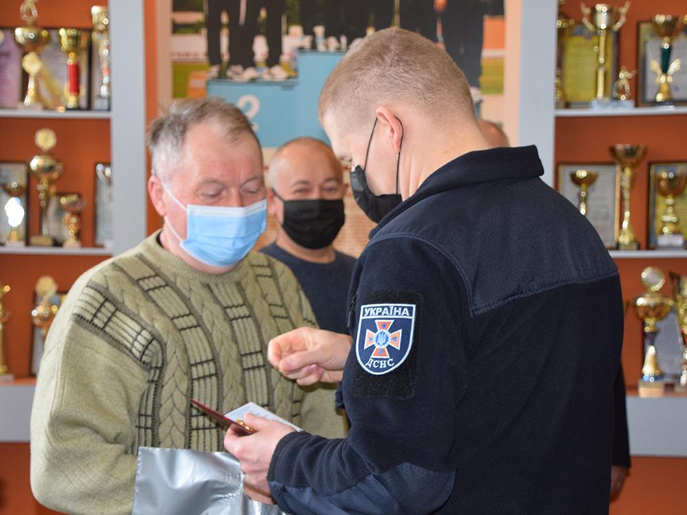 В Николаеве ветеранам-ликвидаторам аварии на ЧАЭС в Службе спасения вручили награды (ФОТО) 5