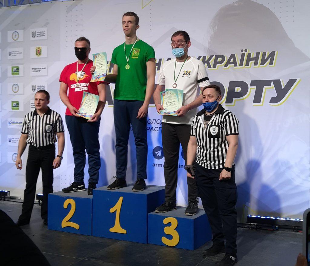 Николаевцы завоевали 12 наград чемпионата Украины по армспорту среди спортсменов с поражением опорно-двигательного аппарата и нарушениями зрения (ФОТО) 7