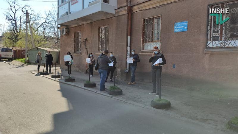 У Центрального суда Николаева требовали честного следствия: сегодня избирают меру пресечения подозреваемому в смертельном ДТП (ФОТО) 7