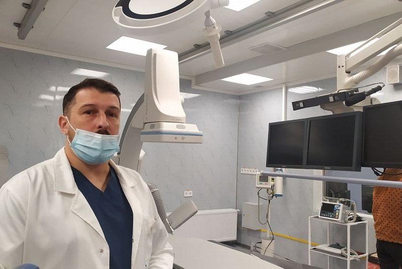 В николаевской горбольнице №1 теперь смогут спасать жизни пациентов с острым инфарктом и сосудистыми патологиями (ФОТО)