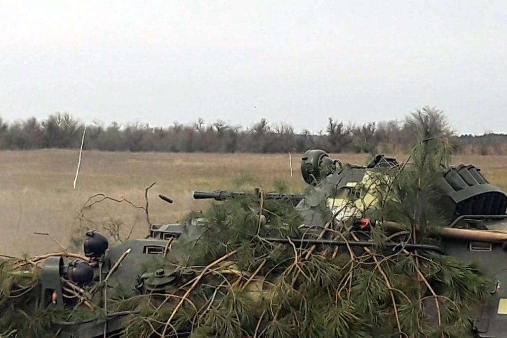 Николаевские десантники отработали действия во время боя (ФОТО) 7