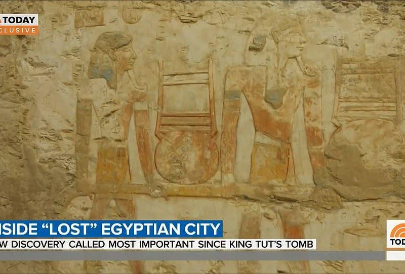 Под небом голубым. В Египте археологи нашли Потерянный Золотой город (ФОТО)