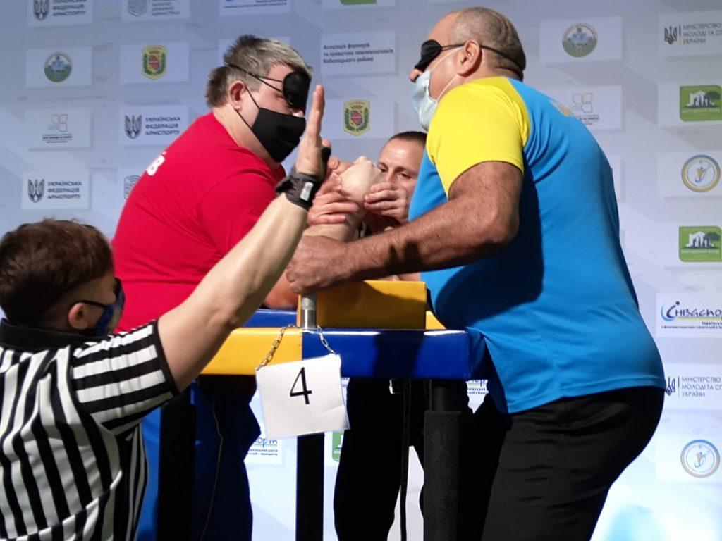 Николаевцы завоевали 12 наград чемпионата Украины по армспорту среди спортсменов с поражением опорно-двигательного аппарата и нарушениями зрения (ФОТО) 9