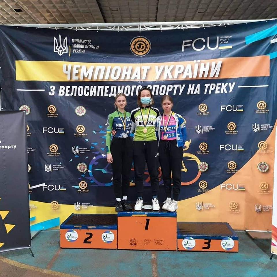 Николаевские спортсмены завоевали 28 медалей на чемпионате Украины по велоспорту на треке (ФОТО) 9