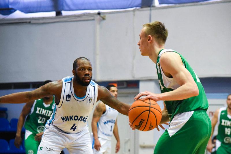 МБК «Николаев» дома в захватывающем матче проиграл «Химику» (ФОТО) 13
