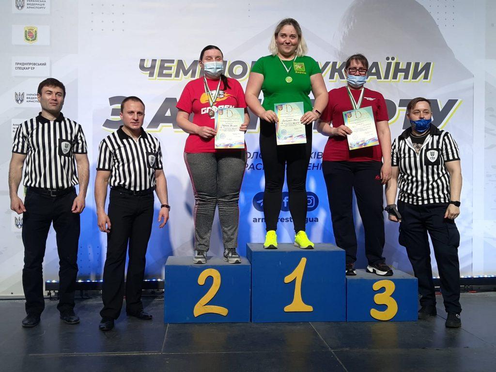 Николаевцы завоевали 12 наград чемпионата Украины по армспорту среди спортсменов с поражением опорно-двигательного аппарата и нарушениями зрения (ФОТО) 13