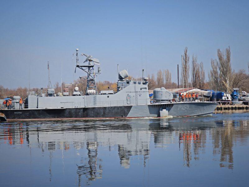 На Николаевский судостроительный завод на ремонт зашли «Прилуки» и «Геническ» (ФОТО)