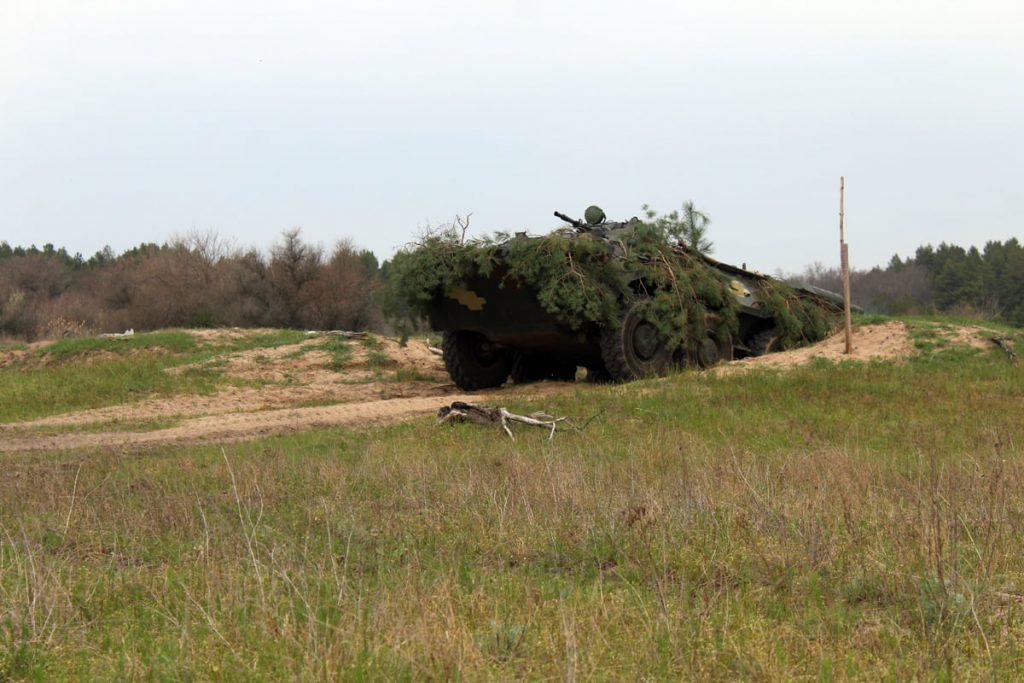Николаевские десантники отработали действия во время боя (ФОТО) 17