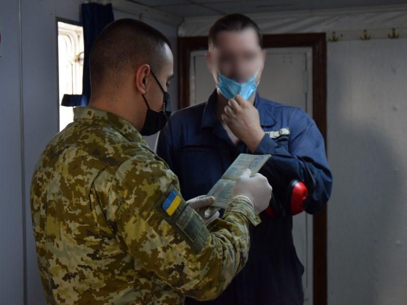Из-за Крыма. В Николаев не пустили 2 российских моряков