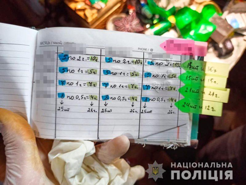 В Николаеве у наркозакладчицы изъяли наркотиков на 150 тыс.грн. (ФОТО, ВИДЕО)