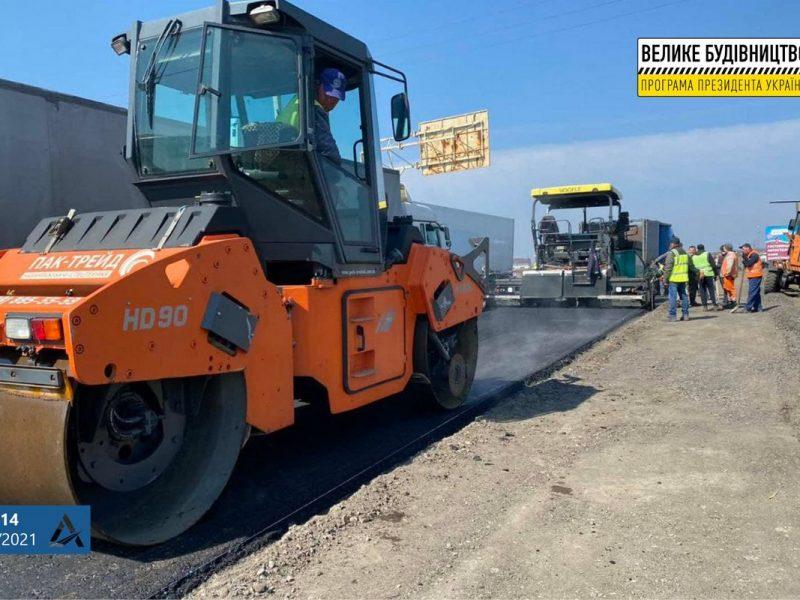 Начался ремонт николаевской объездной — в районе Мешково-Погорелово (ФОТО)