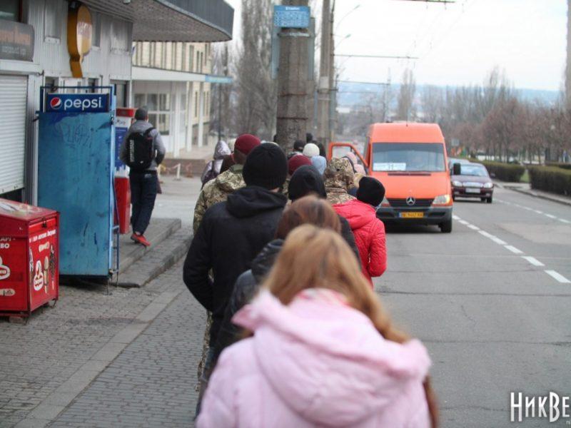 В Николаеве более 100 маршруток в день вообще не выходят в рейсы