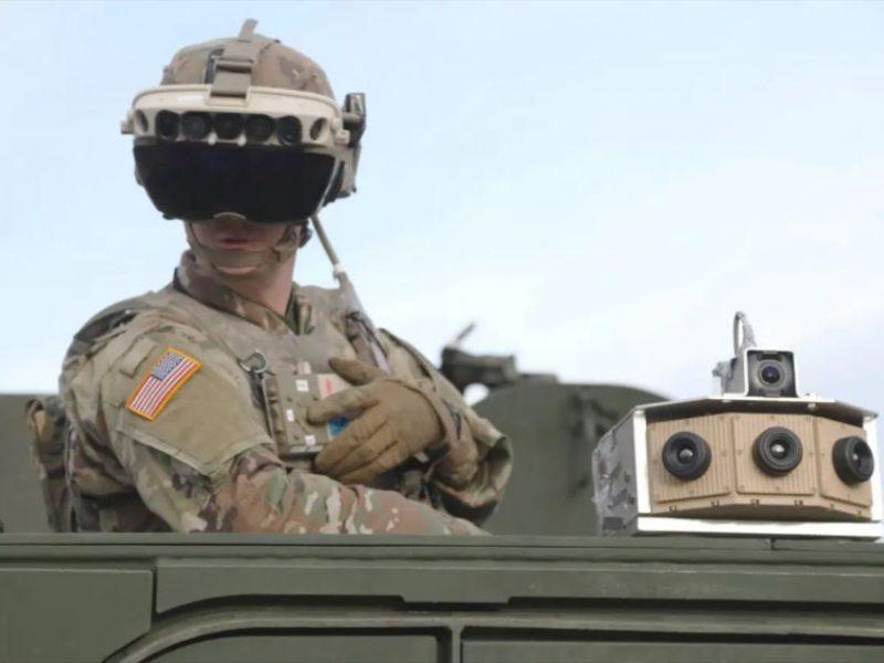 Войска США закупают очки дополненной реальности на $22 млрд. Зачем? (ВИДЕО)