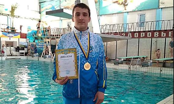 Николаевец выиграл чемпионат Украины по прыжкам в воду