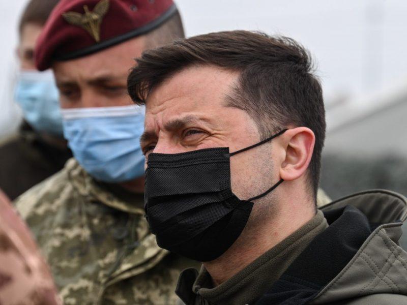 Зеленский побывал на админгранице с Крымом и призвал бойцов быть начеку (ФОТО)