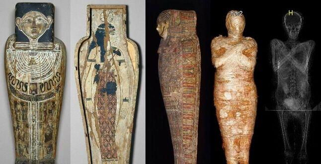 Польские археологи представили египетскую мумию беременной женщины – пока единственную в мире