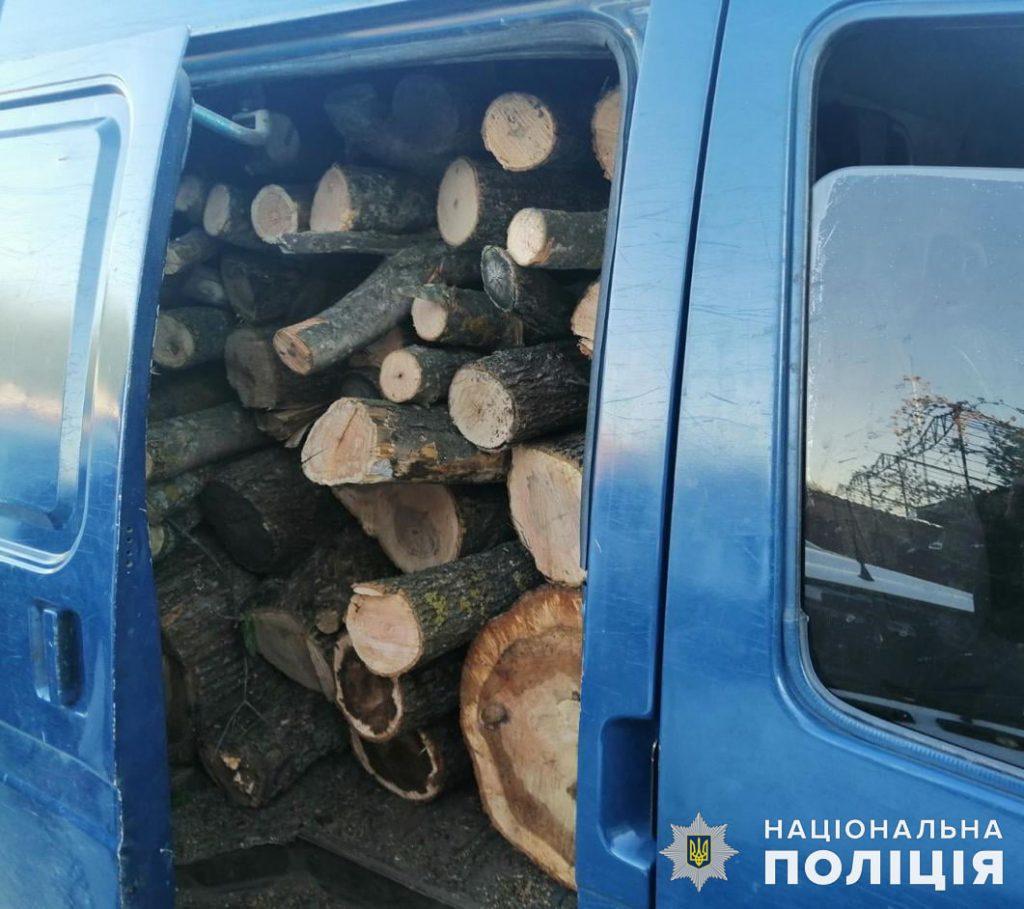 Откуда дровишки? На Николаевщине задержали грузовой микроавтобус с 6,5 кубометрами неизвестно откуда взявшейся древесины (ФОТО) 1