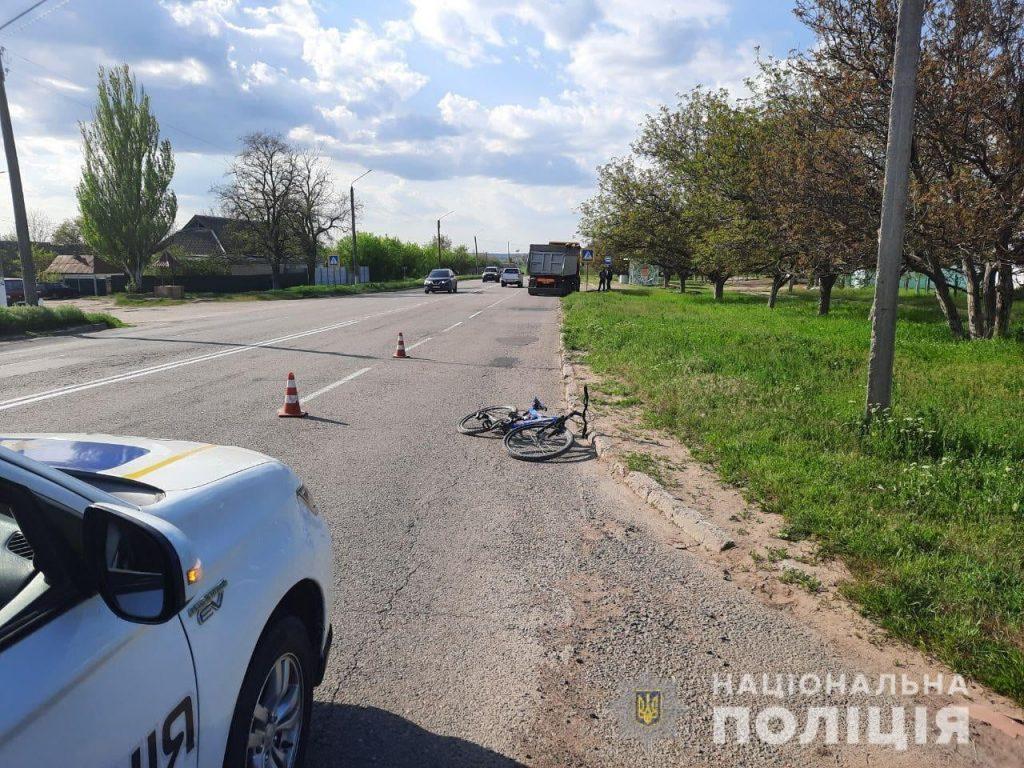 В Новой Одессе под колеса грузовика попал 12-летний велосипедист – полиция ищет свидетелей (ФОТО) 3