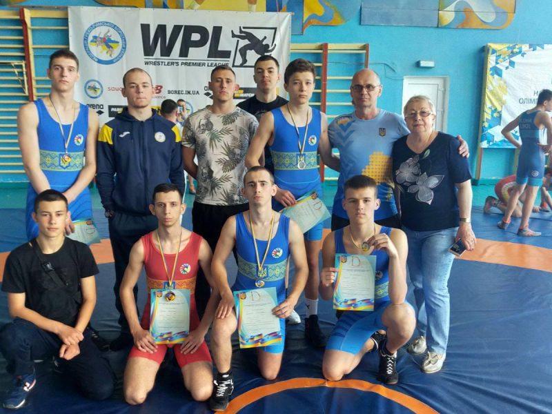 Николаевцы завоевали 7 наград чемпионата Украины по вольной борьбе среди спортсменов с нарушениями слуха (ФОТО)