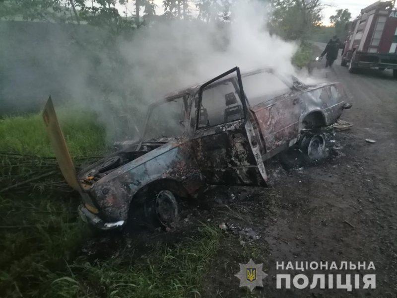 Мистика. Одна из сгоревших вчерашней ночью машин была угнана за пару часов до этого