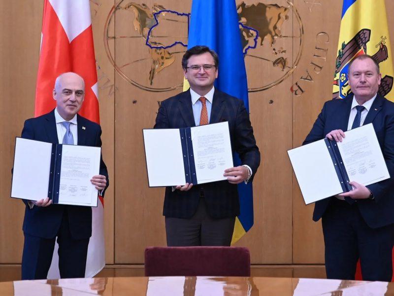 Ассоциированное трио: Украина, Грузия и Молдова подписали меморандум