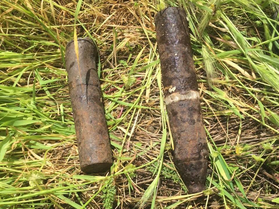 Артснаряды и минометная мина: пиротехники Николаевщины обезвредили взрывоопасные предметы (ФОТО) 1