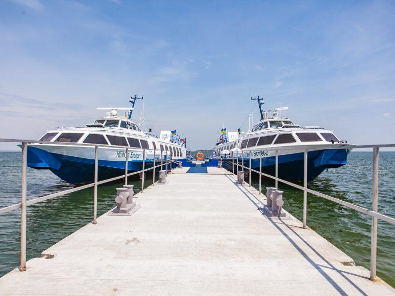Из Николаева и Очакова — на Кинбурн: «НИБУЛОН» открывает новый сезон пассажирских водных перевозок с июня