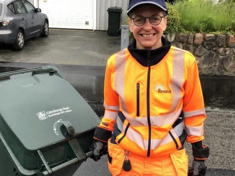 Не из наших реалий: бывший мэр шведского города ушла из политики и стала водителем мусоровоза