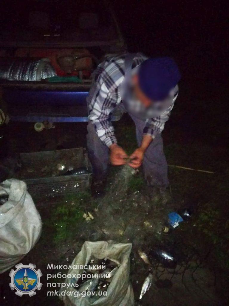 Николаевский рыбоохранный патруль поймал у Новой Одессы браконьера (ФОТО) 1