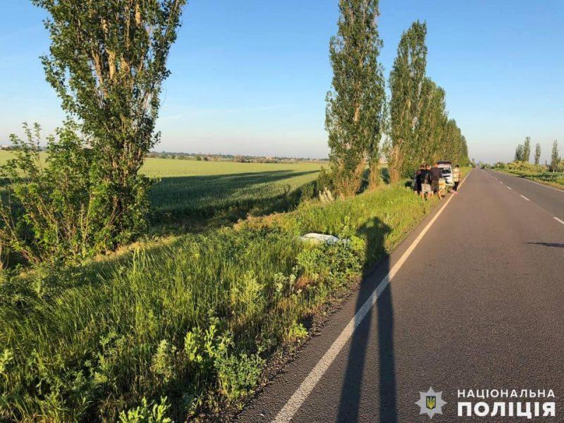 Ночное ДТП на Николаевщине: погибли 24-летний водитель и 18-летняя пассажирка (ФОТО)