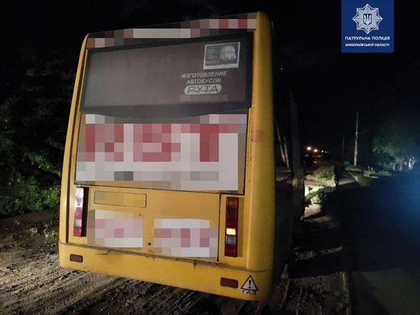В Николаеве патрульные задержали пьяного водителя, который совершил ДТП и скрылся с места происшествия (ФОТО)