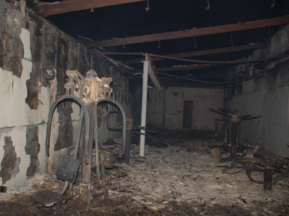 В селе на Николаевщине горел спорткомплекс. И чуть не сгорела школа (ФОТО) 1