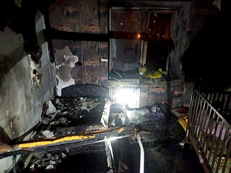 Ночью в Николаеве сгорела квартира в пятиэтажном доме, соседей эвакуировали