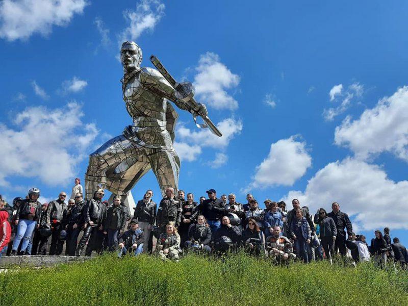 Николаевские байкеры провели мотопробег в честь Дня победы (ФОТО, ВИДЕО)